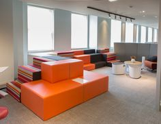 Allsteel NeoCon 2014 Showroom Suite #1120, Merchandise Mart, Chicago. Choose how you work at #NeoCon14! Gather Collaborative Collection, Hedge, Belong table, Linger chair, Scooch seating, Further power Hub