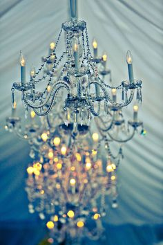 Calistoga Ranch Wedding by IQphoto Blue Chandelier, Chandelier Lighting, Crystal Chandeliers, Elegant Chandeliers, Calistoga Ranch, Our Wedding, Dream Wedding, Wedding Things, Wedding Ceremony