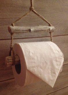 Driftwood toilet roll holder - house warming gift idea, coastal,nautical, rustic