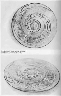 'The Lolladoff plate' is a year old stone dish found in Nepal. It clearly shows a disc-type UFO and a figure resembles a Grey-type alien!