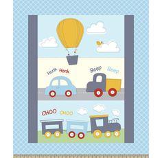 Nursery Fabric- My First Adventure 36