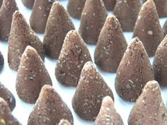 Ok...they  aren't candles..but you will love these ....Incense Cones: Tutorial