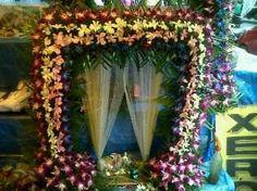 1000 images about decoration ideas on pinterest diwali for Artificial flower decoration ideas for ganpati