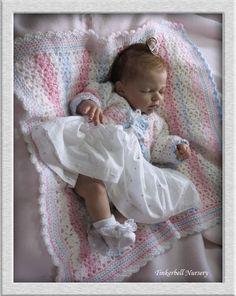 Indra Asleep - Full body doll kit by Reva Schick - LDC Soft Vinyl - Pre-Order - Online Store - City of Reborn Angels Supplier of Reborn Doll Kits and Supplies