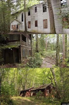 There is an abandoned town in the middle of Tennessee's Great Smoky Mountains National Park! What?!?
