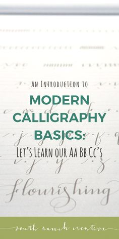In this third and final lesson for beginner modern calligraphy, you will learn your uppercase and lowercase alphabet as well as some tips just for fun! Calligraphy Alphabet Tutorial, Modern Calligraphy Tutorial, Modern Calligraphy Alphabet, Basic Calligraphy, Calligraphy Lessons, Calligraphy For Beginners, Hand Lettering Tutorial, Calligraphy Handwriting, Calligraphy Pens