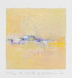 "May 10, 2018 9 cm x 9 cm (app. 4"" x 4"") oil on canvas © 2018 Hiroshi Matsumoto www.hiroshimatsumoto.com"