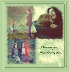 'I've loved you from the start' - Snape and Lily Harry Potter Hermione Granger, Harry Potter Style, Harry Potter Books, Harry Potter Fan Art, Slytherin And Hufflepuff, Hogwarts, Im In Love, Love You, Snape Always