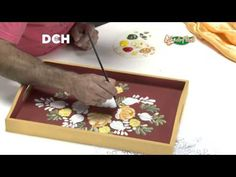 7° Clase de Pintura Decorativa - YouTube