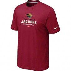 Cheap Men Jacksonville Jaguars Critical Victory Red Short Sleeved T-Shirt Sale_Jacksonville Jaguars T-Shirts