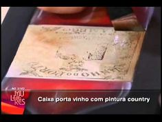 Mulheres 05.08.2011 2ª parte - YouTube - Diná Rocha caixa de vinho