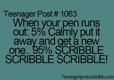 Hahaha I'm def not the calm one. Teenager Quotes, Teen Quotes, Funny Quotes, Teen Posts, Teenager Posts, Minions, Just In Case, Just For You, Def Not