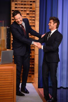 """Zac Efron Visits """"The Tonight Show Starring Jimmy Fallon"""" ~ May 7, 2014"""