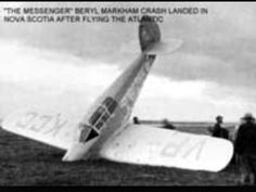 Beryl Markham's crash landing in Nova Scotia West With The Night, Beryl Markham, Out Of Africa, Literary Quotes, Nova Scotia, Landing, Books To Read, Author, Virginia Woolf