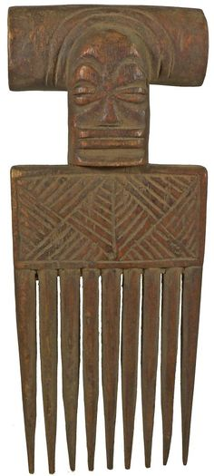 'Go Big': West African Combs 1900s