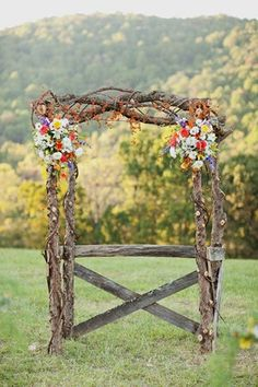 Amey - did you have something like this in mind for the ceremony? Maybe without the cross bar?