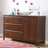 Found it at Wayfair - Cotton Candy Changing Table with Removable Changing Station