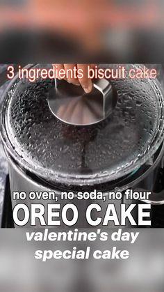 Oreo Cake Recipes, Fun Baking Recipes, Snack Recipes, Cooking Recipes, Chocolate Dishes, Chocolate Cookie Recipes, Chocolate Cake, Chaat Recipe, Biryani Recipe