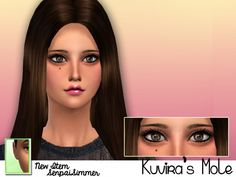 Kuvira's Mole at Senpai Simmer via Sims 4 Updates