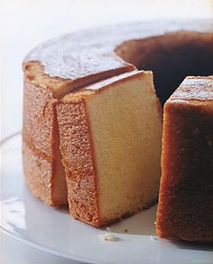 Elvis Presley's Favorite Pound Cake by Epicurious