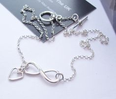 Infinity Necklace Sterling Silver  £47.00