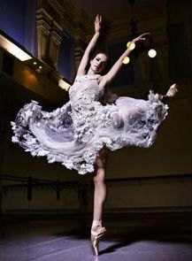 Parisian couturier Karl Lagerfeld created an exclusive costume from Chanel for the world ballet star of Helena Glurdzhidze.