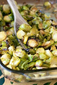 The Cooking Photographer: Oven Roasted Garlic Brussels Sprouts