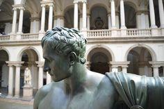 Il restauro del Napoleone di Brera 30:9:2014 - 09