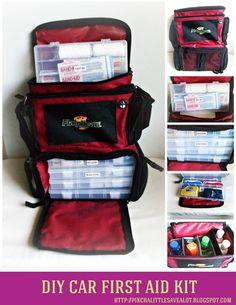 Car First Aid Kit : Pinch A Little Save-A-Lot: Do  It  Yourself - http://www.survivalacademy.co/