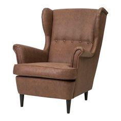 IKEA - STRANDMON, Ohrensessel, , Echte Entspannung und Erholung durch hohen Sesselrücken; Nacken und Schultern werden bequem gestützt.Inklusive 10 Jahre Garantie. Mehr darüber in der Garantiebroschüre.