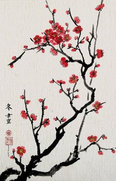 Cherry Blossoms, Giclee Print of Chinese Brush Painting By Peggy Duke by Peggy Duke. $80.00. The picture frames beautifully in a variety of different mat and frame choices. Colors in this painting are easily matched to contemporary decors; detail and color are outstanding. Striking orchid-colored cherry blossoms reach for the sun in this classis Chinese-style painting. This is a giclee print created from an original sumi-e painting by Maryland artist Peggy Duke, who is a...