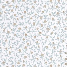 A beautiful trailing botanical wallcovering, available from S&A Supplies at a discounted price Hygge, Blue And Gold Wallpaper, Discount Home Decor, Instagram Background, Mid Century Modern Decor, Salon Style, Scandi Style, Motif Floral, All Wall