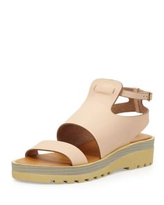 Sporty chic sandals from See by Chloe, 212 872 8941  Check out more items from the Good Sport trend here: http://brgdf.co/UlaV5B