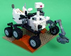 This IS GREAT! Lego has always been inspiring people to not only create, but think about things that could be built. To create a set of the Mars rover would inspire more people to STEM.