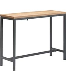 Safavieh Richmond Rustic Wood Block Round End Table & Reviews - Furniture - Macy's Entryway Console Table, Dining Table With Bench, Modern Console Tables, Dining Room Table, Linen Dining Chairs, Parsons Chairs, Wood Blocks, End Tables, Coffee Tables