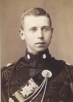Queen Victoria's grandson Prince Alfred of Edinburgh and Saxe-Coburg-Gotha. He died as a young man.