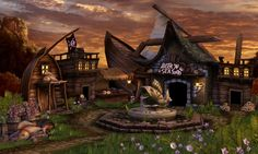 Pirate Town by ~NationalGeo on deviantART