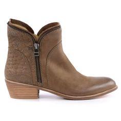 Croco ankle boots - croco enkellaarsjes