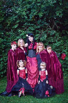 A Friday 13th Gothic Wedding: Christina & James