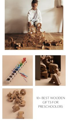 Wooden English alphabet by HappyTreeStore. Wood alphabet set of uppercase and lowercase letters. Letter blocks Alphabet letters Homeschool. Organic wooden Educational toys. Waldorf large Alphabet for baby and kids games #babygift #education Wooden Toys For Toddlers, Busy Boards For Toddlers, Wooden Baby Toys, Toddler Toys, Kids Toys, Wooden Educational Toys, Best Educational Toys, Baby Room Decor, Nursery Decor