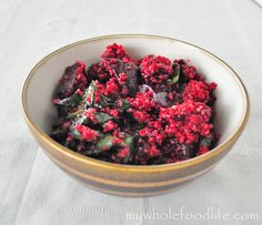 Quinoa Salad with Roasted Beets.  Vegan and gluten free.