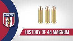 44 Magnum Ammo - History #AmmoHistory #Ammo #44Magnum #44MagAmmo #44MagAmmoHistory