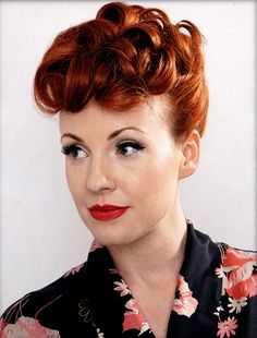 The 1950's Poodle Hairstyle Tutorial - Hairstyle Insider