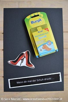 Wenn dir mal der Schuh drückt ... Wenn Buch | Bastelanleitung | Wenn Buch Ideen | Wenn Buch basteln
