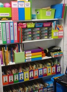 """Classroom photos from a 20+ years teacher. Great organization, and I love the """"Parking Lot"""" """"Brick Wall"""" and """"Soap Box"""" posters!"""
