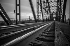 Bridge Art Architecture Black and White by TheWoodenMermaid