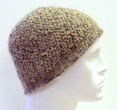Crochet Camel & Alpaca Fur Beanie Hat    by SophiesHatsandMore,