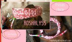 Las Manualidades de Roshalyss: pulsera fresas chicle