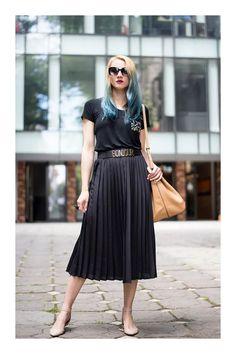 c09ace8515 5 tipos de faldas que son imprescindibles en tu armario. Saia PlissadaLooks  ...