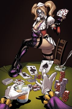 Harley Quinn strip by logicfun.deviantart.com on @deviantART